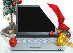 новогоднее оформление сайта бесплатно
