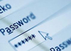 ввод пароля на компьютере