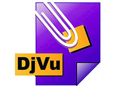 файл djvu на компьютере