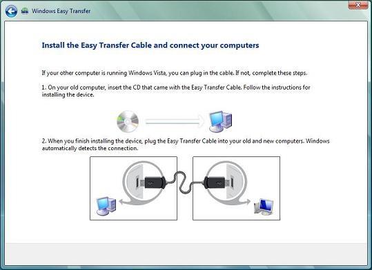 программа Easy transfer