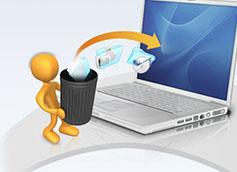 восстановление файлов из корзины