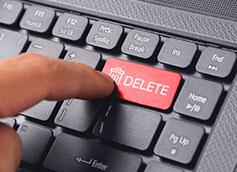 delete knopka