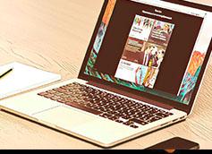 лента дзен на ноутбуке