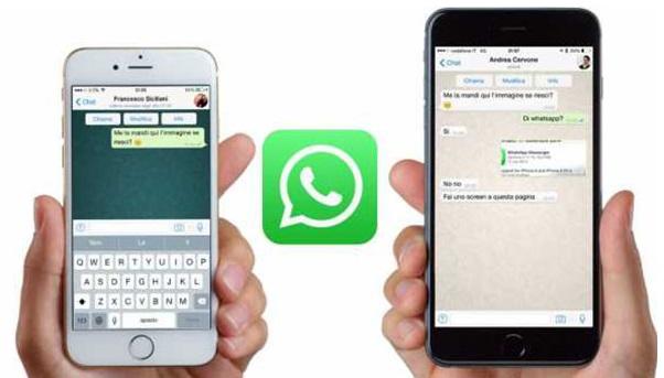 два телефона с ватсап