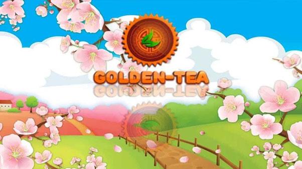 логотип игры golden tea