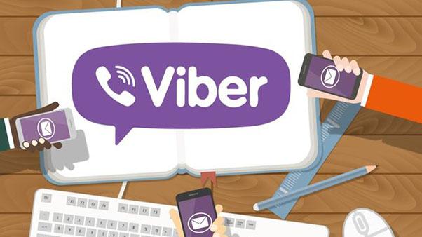 логотип вайбер на телефоне и в книге