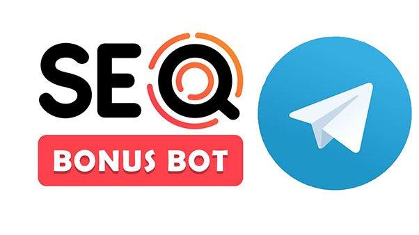 логотип seobonus и телеграм